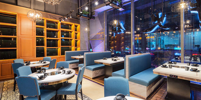 Interior of Holy Cow (Tianshan Lu) located in Changning, Shanghai