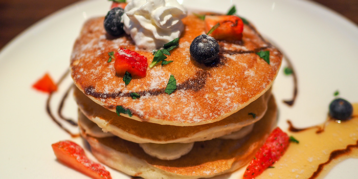 Pancakes from The Caxton located in Jing