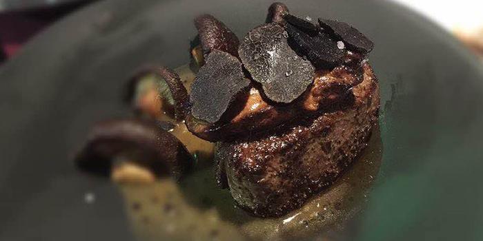 Truffle Steak from Chateau Dionne located in Xuhui, Shanghai