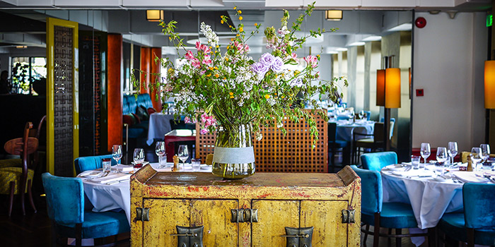 Dining Area of M on the Bund located in Huangpu, Shanghai