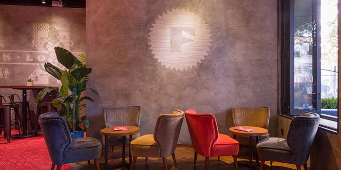 Indoor Seating Area of Funkadeli located in Xuhui, Shanghai
