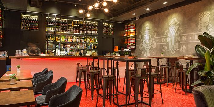 Interior of Funkadeli located in Xuhui, Shanghai