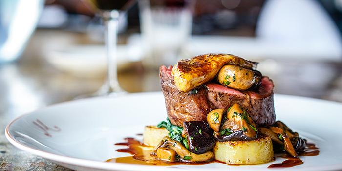 Steak from M on the Bund located in Huangpu, Shanghai