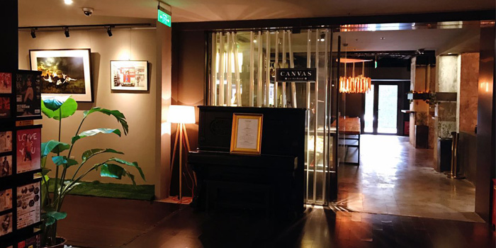 Indoor of Canvas located on  Yan