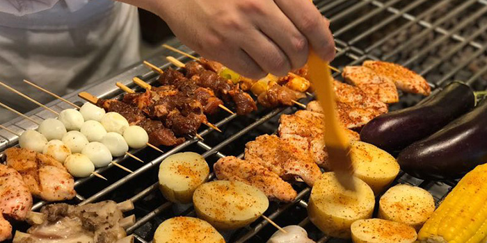 Barbecue from C Market located in Minhang, Shanghai