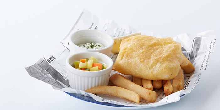Fish and Chips from The Isles (Huaihai Zhong Lu) located in Luwan, Shanghai