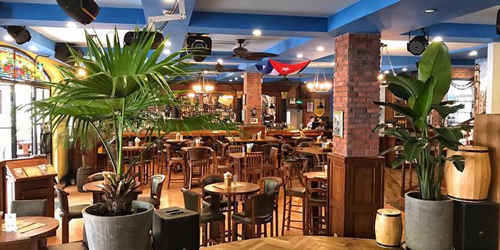 Indoor Seating Area of La Bodeguita Del Medio located in Xuhui, Shanghai