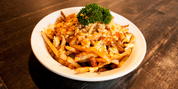 Poutine from Tocks A Montreal Deli located in Huangpu, Shanghai
