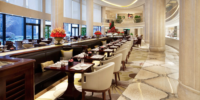 Indoor of  Grand Brasserie cated on ZhongShan Dong Yi Lu, Huangpu, Shanghai