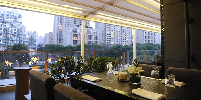 Outdoor of T8 Restaurant & Bar located on located on Hubin Lu, Huangpu, Shanghai