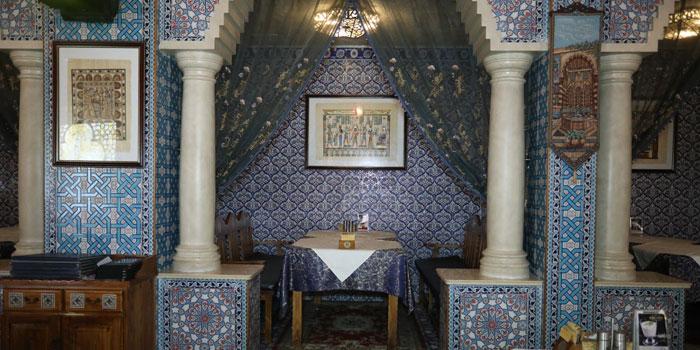 Indoor of 1001 Nights Restaurant located on Hengshan Lu, Xuhui , Shanghai