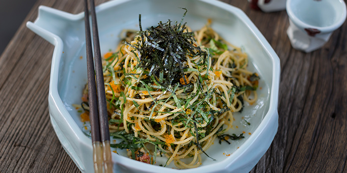 Mentaiko Pasta from Ginger Modern Asian Bistro located in Xuhui, Shanghai