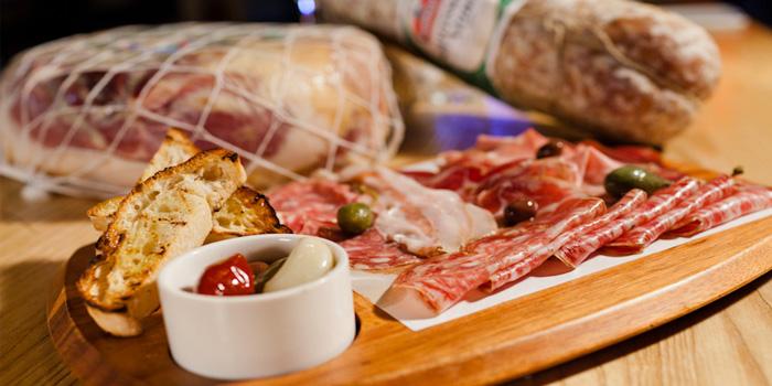 Food of Porcellino Italian Restaurant located on Yuyuan Lu, Changning, Shanghai