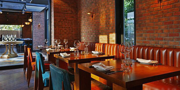 Indoor of Ribone Steakhouse located on Yuyuan Lu, Changning, Shanghai