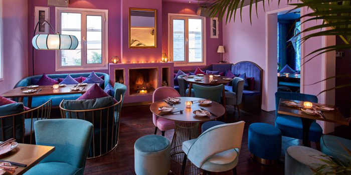Indoor of Lychee located on Fuxing Xi Lu, Xuhui, Shanghai