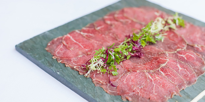 Beef Carpaccio from Kafer by The Binjiang One located in Pudong, Shanghai