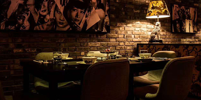 Dining Table of Xixi bistro located in Huangpu, Shanghai