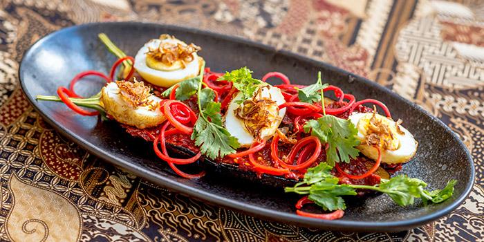 Egg from Bali Bistro & Balini Coffee located in Jing