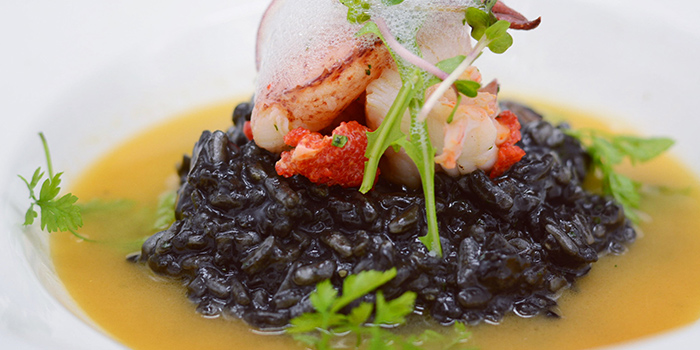 Lobster Risotto from Reve Kitchen located in Minhang, Shanghai