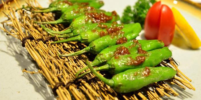 Peppers from Ifuku Isaribi located in Jing