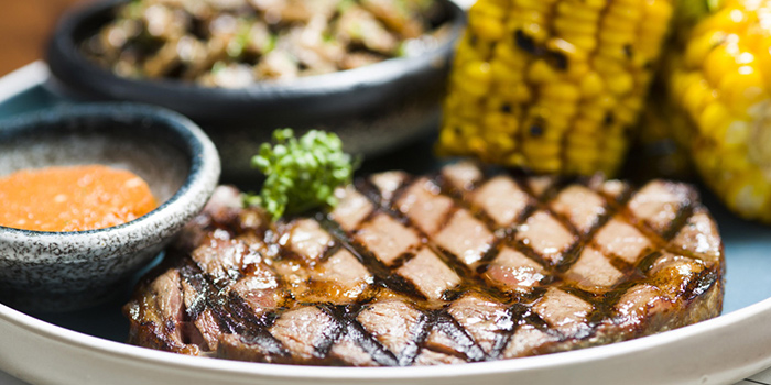 Steak from The Refinery located in Luwan, Shanghai