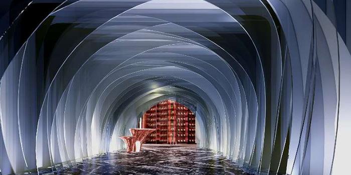 Entrance of LAGO by Julian Serrano located in Hongkou, Shanghai