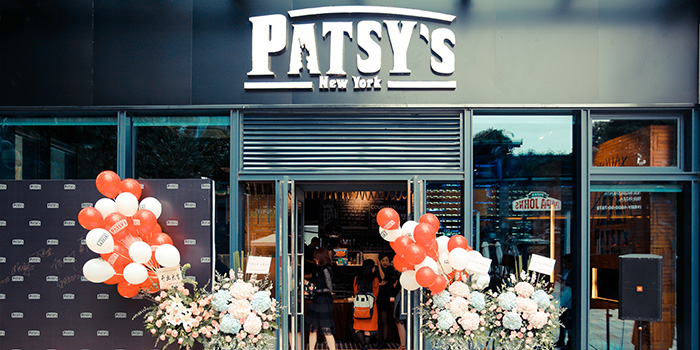 Entrance of Patsy