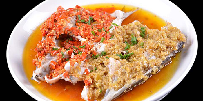 Fish from Hunan Country Cuisine located in Xuhui, Shanghai