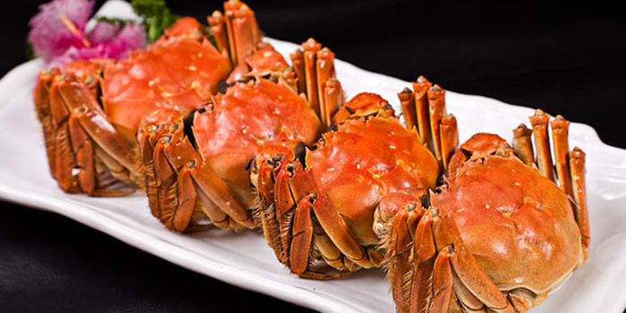 Hairy Crabs from Hunan Country Cuisine located in Xuhui, Shanghai