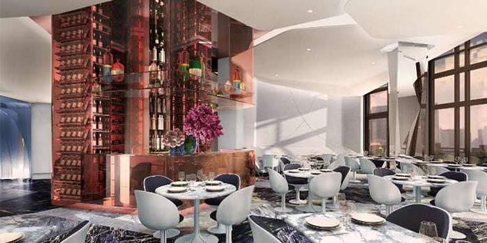 Lounge of LAGO by Julian Serrano located in Hongkou, Shanghai