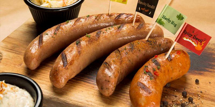 Sausages from Morganfield