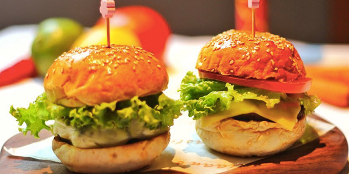 Sliders from Incline Bistro located in Minhang, Shanghai