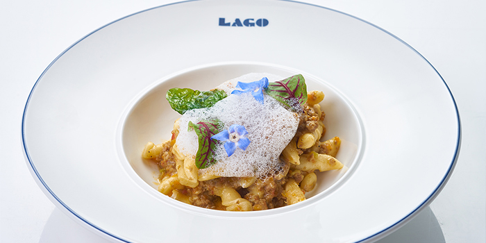 Strozzapretti from LAGO by Julian Serrano located in Hongkou, Shanghai