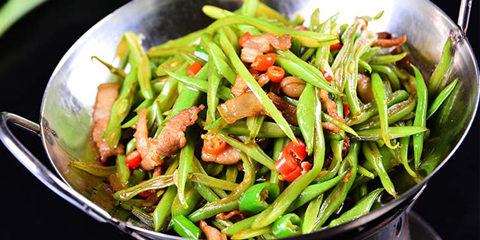 Vegetables from Hunan Country Cuisine located in Xuhui, Shanghai