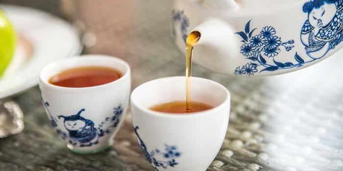 Afternoon Tea of MOTT539 located near Sinan Lu, Shanghai