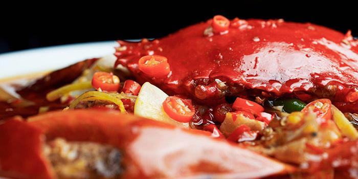 Crab from Benzhen Sichuan Cuisine located in Huangpu, Shanghai