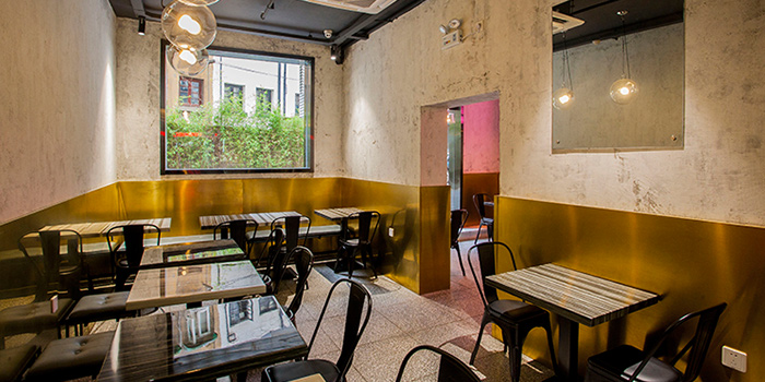 Dining Room of Oh My Burger located in Xuhui, Shanghai