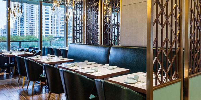 Interior of Benzhen Sichuan Cuisine located in Huangpu, Shanghai