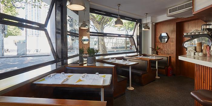 Interior of Diner located in Xuhui, Shanghai