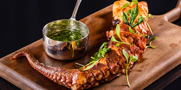 Octopus Chimichurri from Ruiku (Wanda Reign) located in Huangpu, Shanghai