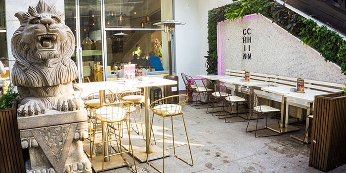 Outdoor Seating of Chin Chin by Wheat located in Xuhui, Shanghai