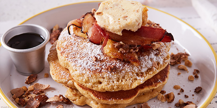 Pancakes from Diner located in Xuhui, Shanghai