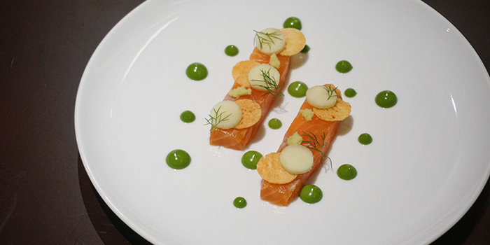 Salmon from Light & Salt Backstage located in Huangpu, Shanghai