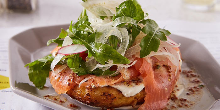 Smoked Salmon Sandwich from Diner located in Xuhui, Shanghai