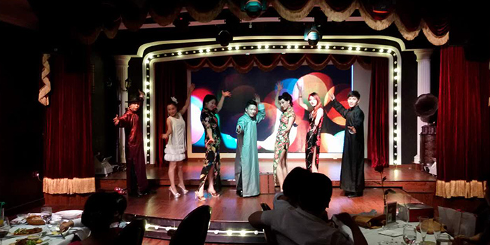 Stage of Dreams of Old Shanghai located in Jing