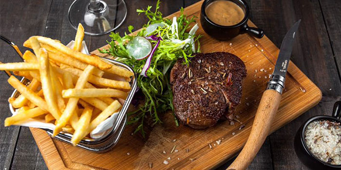 Steak of Lingo Bistrot located in Huangpu, Shanghai