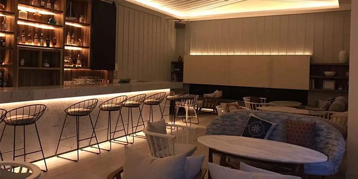 Lounge Room of The Beach House(Julu Lu) located in Jing