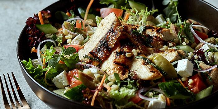 Chicken Bulgar Wheat Salad from Element Fresh Shanghai Center located on Nanjing Xi Lu, Jing