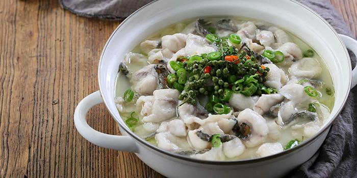 Fish from Tian La Green Fashion Restaurant (Jin Hongqiao) located in Changning, Shanghai