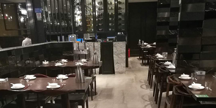 Interior of Tian La Green Fashion Restaurant (Takashimaya) located in Changning, Shanghai